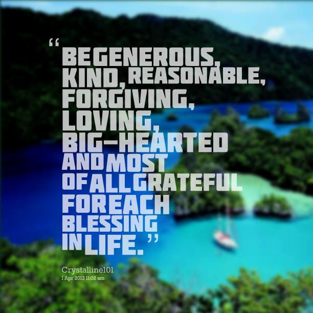 Generous quote #2