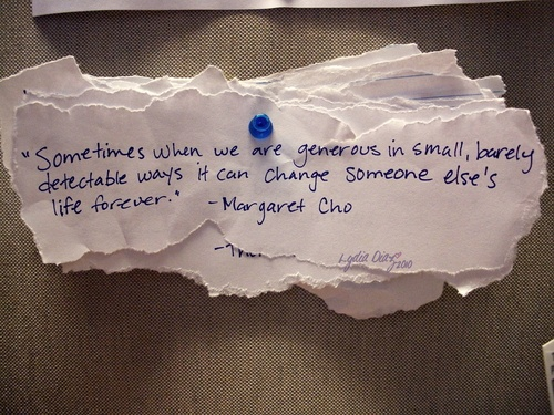 Generous quote #8