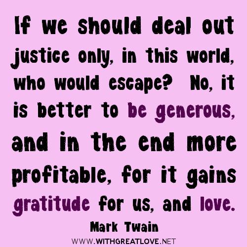 Generous quote #4