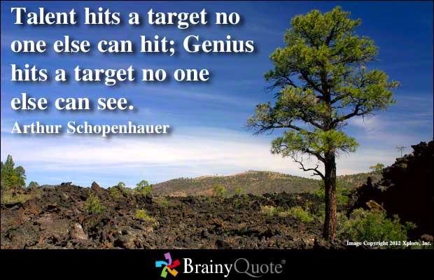 Genius quote #3