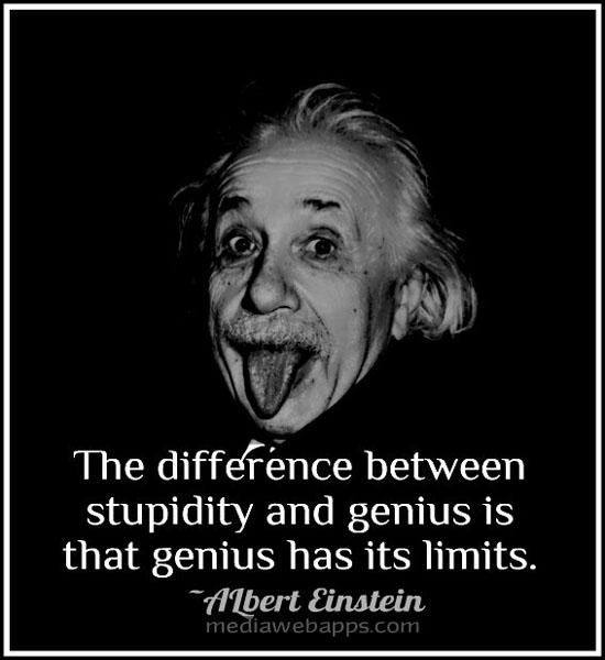 Genius quote #2