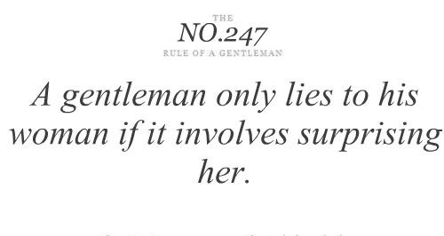 Gentlemen quote #5