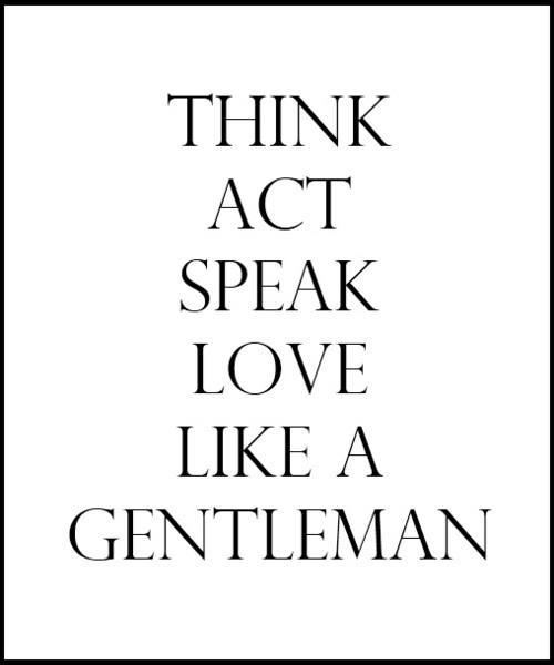 Gentlemen quote #6