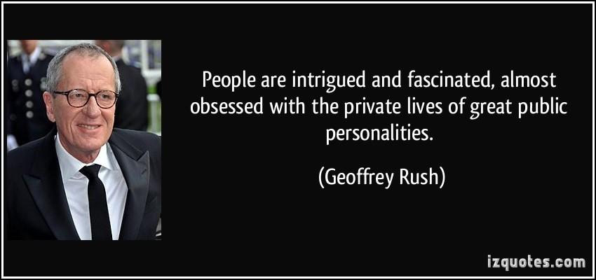 Geoffrey Rush's quote #8