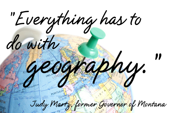 Geography quote #1