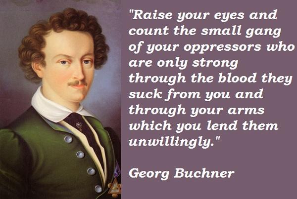 Georg Buchner's quote #3