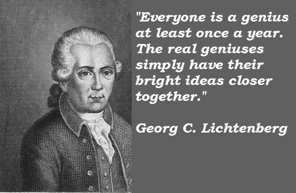 Georg C. Lichtenberg's quote #3