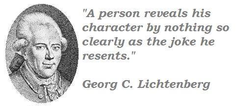 Georg C. Lichtenberg's quote #6