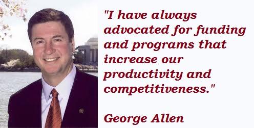 George Allen's quote #2