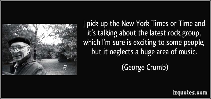 George Crumb's quote #5