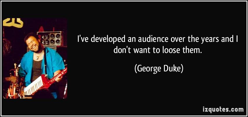 George Duke's quote #5
