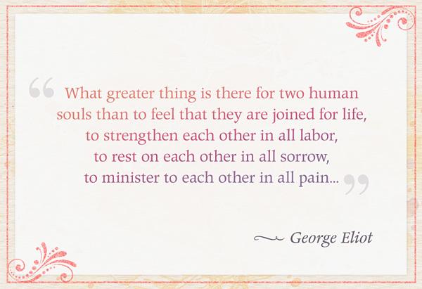 George Eliot's quote #4