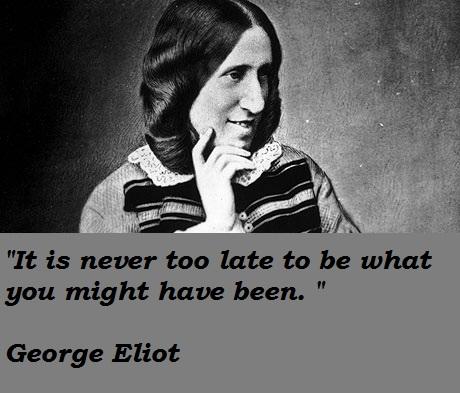 George Eliot's quote #3