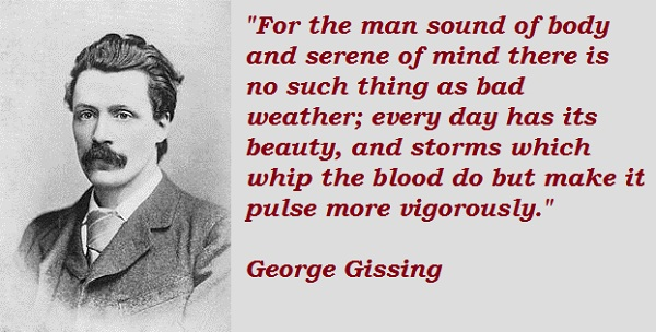 George Gissing's quote #2