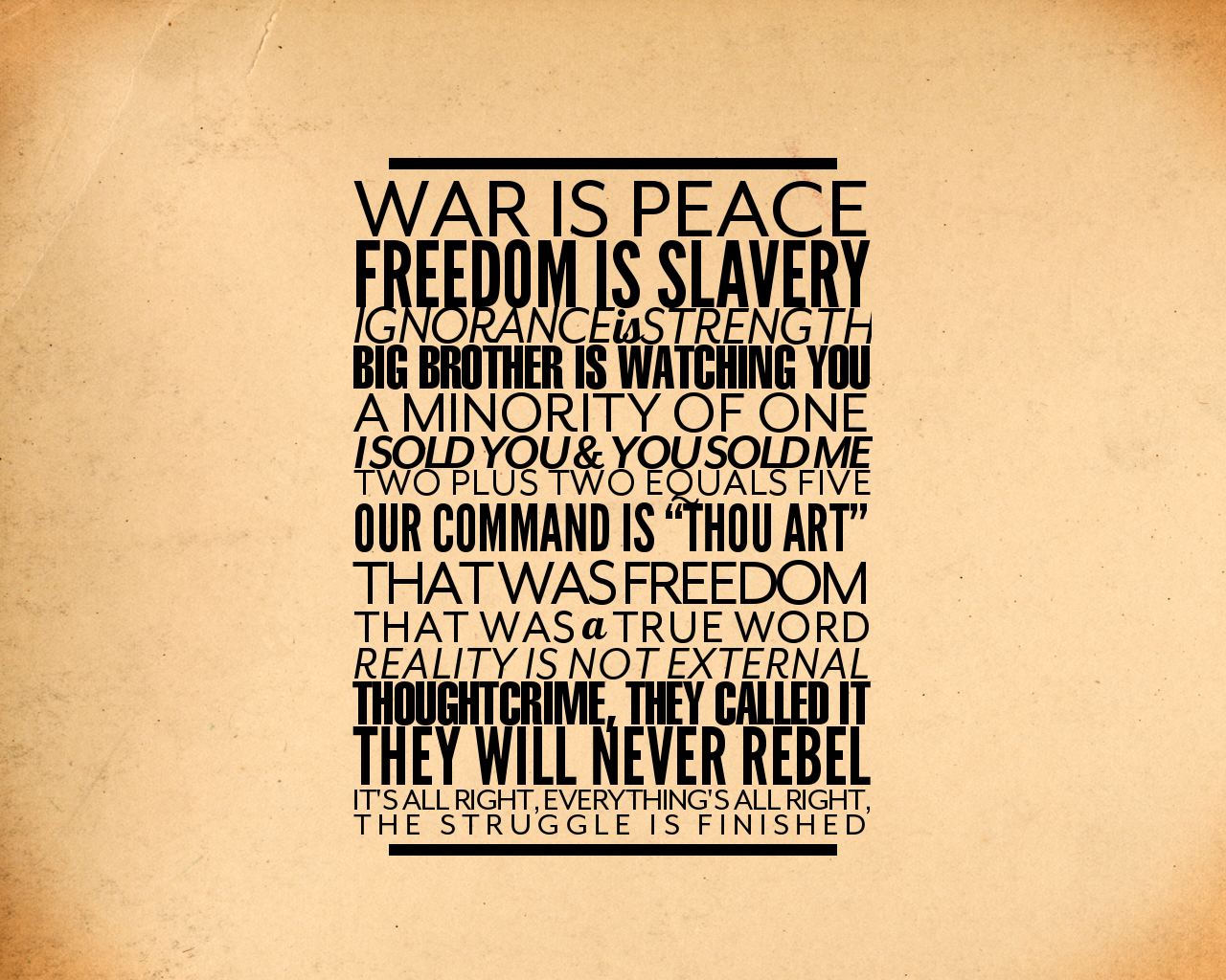 George Orwell 1984 Quotes George Orwell's Quotes Famous And Not Much  Sualci Quotes
