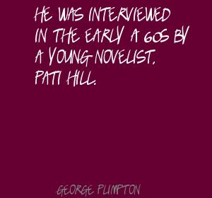 George Plimpton's quote #2