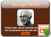 George Wald's quote #2
