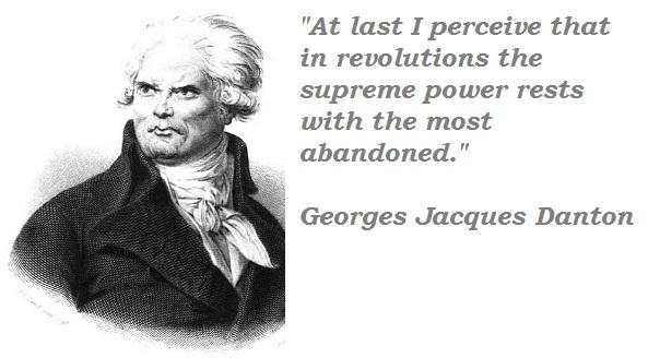 Georges Jacques Danton's quote #3