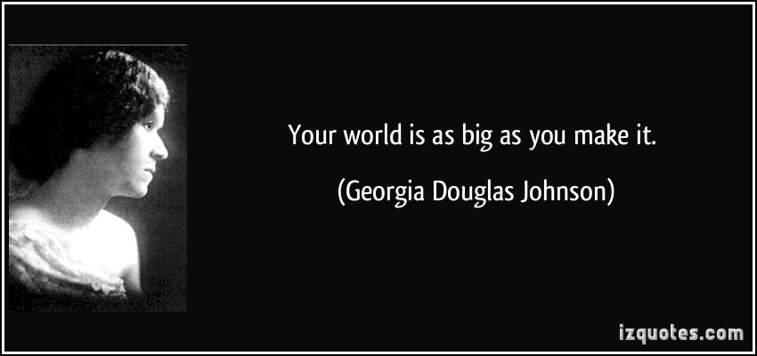 Georgia Douglas Johnson's quote #4