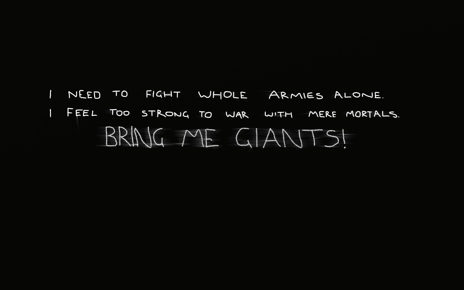 Giants quote #1