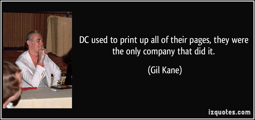 Gil Kane's quote #1