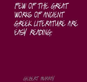 Gilbert Murray's quote #2