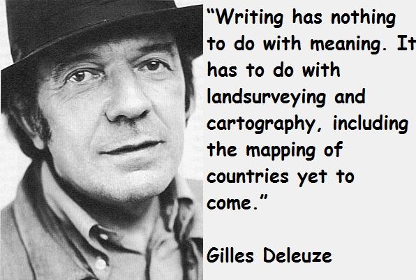 Gilles Deleuze's quote #1
