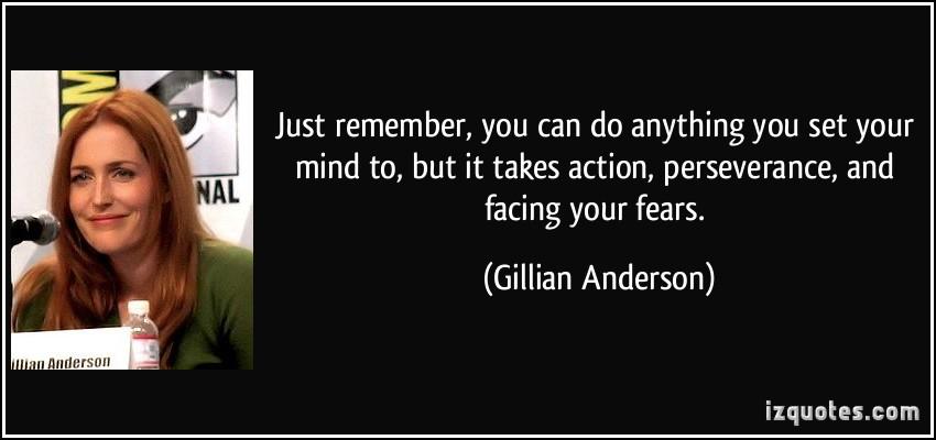 Gillian Anderson's quote #1