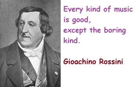 Gioachino Rossini's quote #1