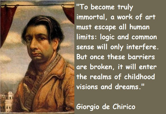 Giorgio de Chirico's quote #1