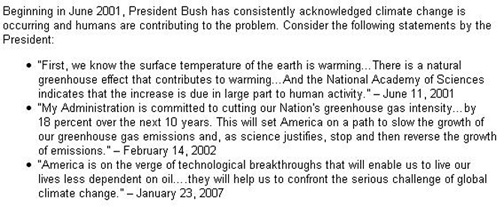Global Warming quote #1