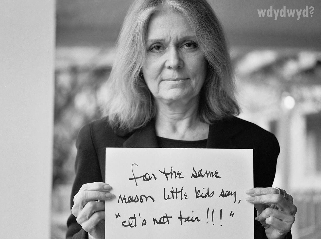 Gloria Steinem's quote #1