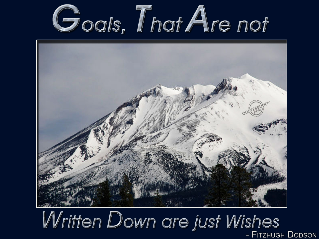 Goal quote #2