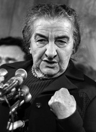 Golda Meir's quote #1