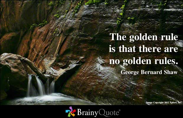 Golden Rule quote #1