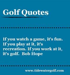 Golf Club quote #2