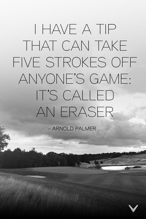Golfer quote #2