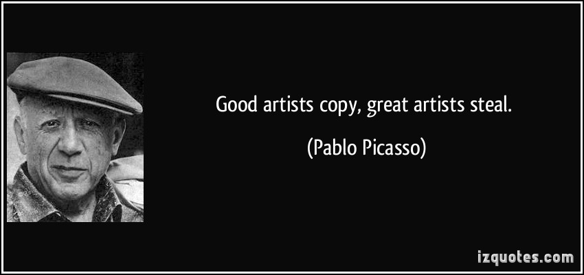 Good Artists quote #1