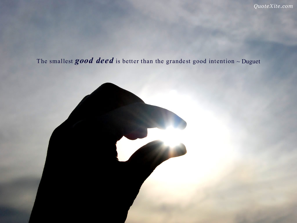 Famous quotes about 'Good Deed'   Sualci Quotes