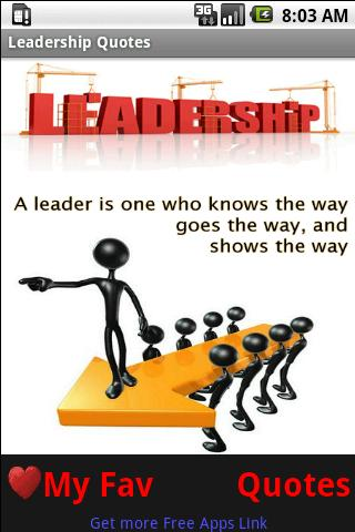 Famous Quotes About Good Leadership Sualci Quotes