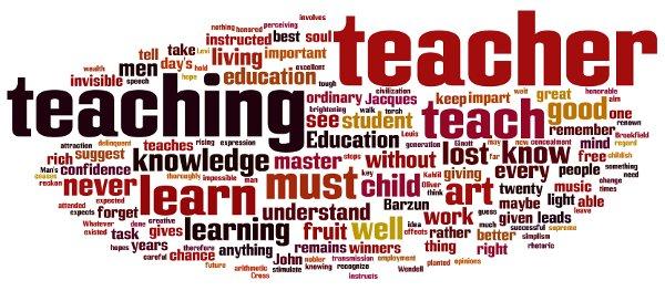 Good Teachers quote
