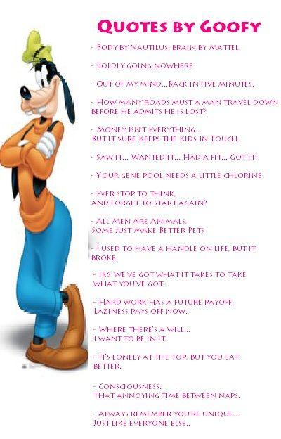 Goofy quote #3