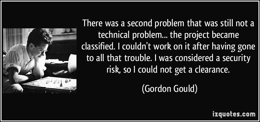 Gordon Gould's quote #5
