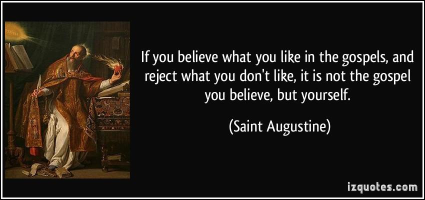Gospels quote #1