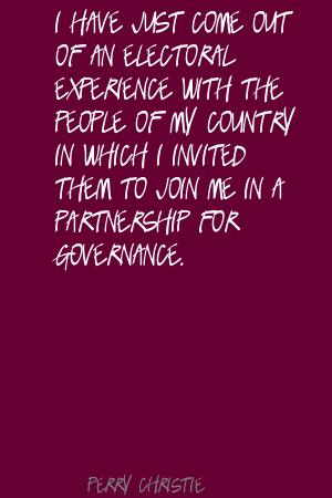 Governance quote #1
