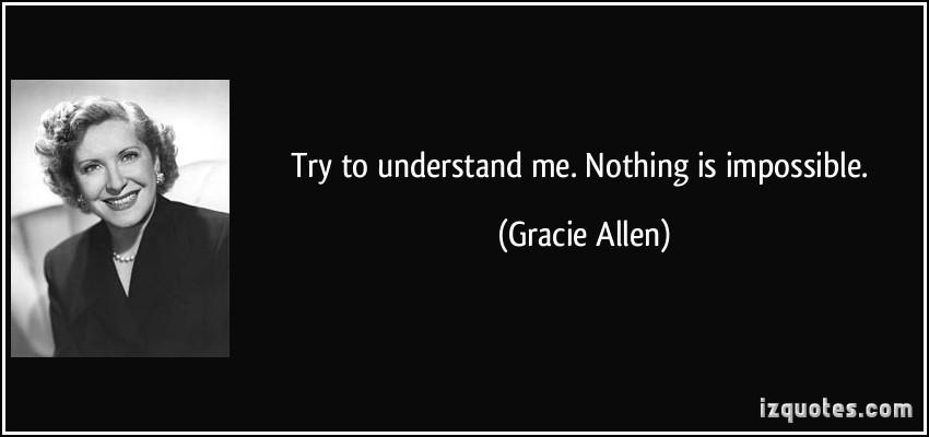 Gracie Allen's quote #1