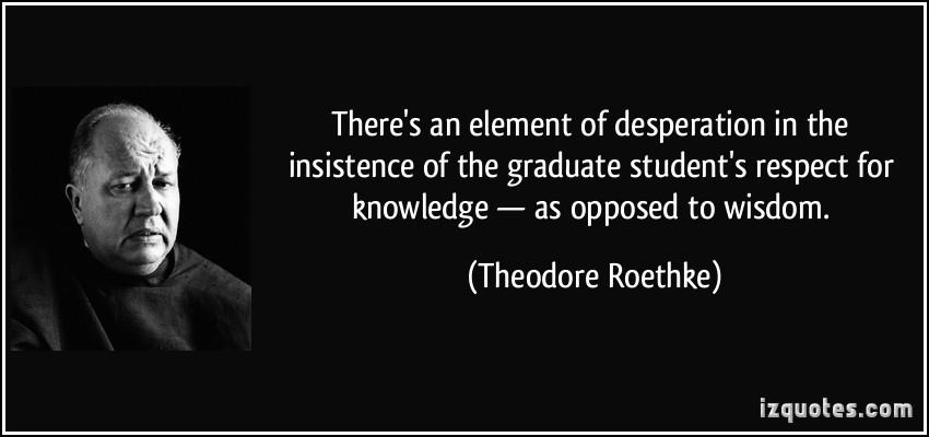 Graduate Student quote #2