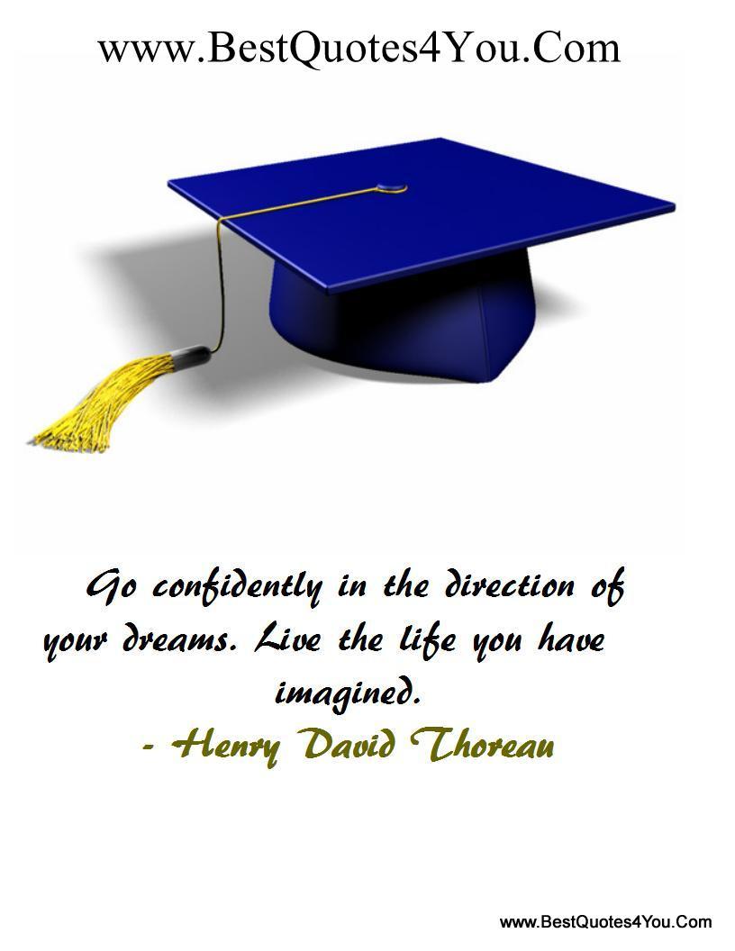 Graduation quote #2
