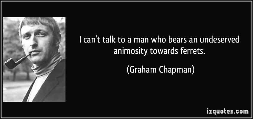 Graham Chapman's quote #1