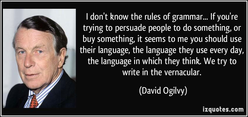 Grammar quote #1